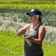 Amanda Brown, Stockbridge School of Agriculture, discusses the Student Farming Enterprise.