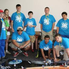 4-H Robotics camp