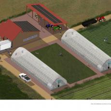 Farm Hub and surroundings
