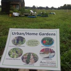 Urban Gardens sign
