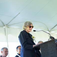 Alice Wysocki at podium