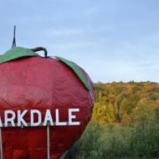 Clarkdale large advertising sign