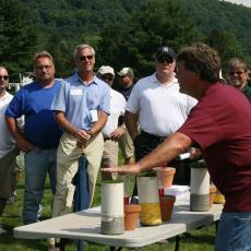 Professor Scott Ebdon compares golf and lawn turf