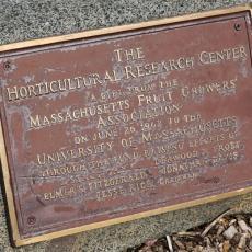 CSO gift from Massachusetts Fruit Growers Association