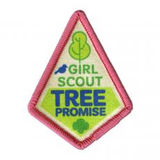 Girl scout badge for Tree Promise