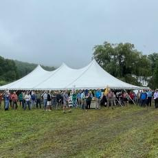 MA Agricultural Commisioner John Lebeaux addresses MFGA meeting