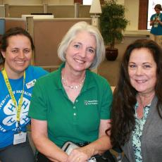 Kim Pond, Laurie Flanagan & Kerry Bickford: 45 years of 4-H leadership