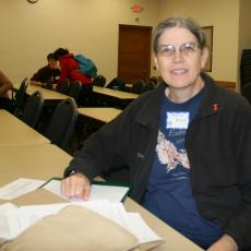 Martha Moore, coach, Reading's Envirothon team