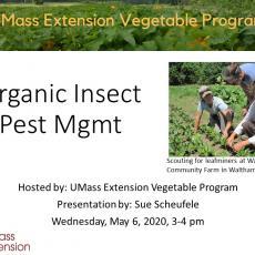 2020 Twilight meeting slide on organic management