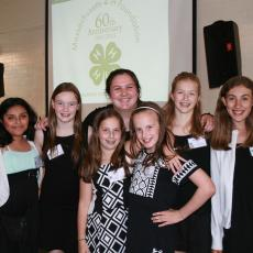Plant-A-Smile 4-H Club from Newton offers presentation on Civil War map project