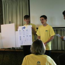 """Shark Tank"" presentation at end of camp"