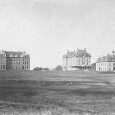 Three early University buildings