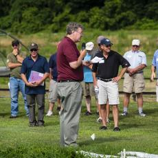 Turf Field Day 2019: Weed Specialist Randy Prostak spoke on strategies for weed control in conjunction with spring seeding.