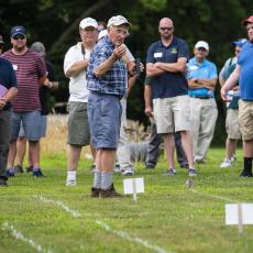 Turf Field Day 2019: Dr. Bill Dest reported on research into organic vs. conventional sports field management