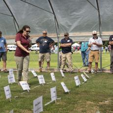 Turf Field Day 2021: Managing Kentucky bluegrass and tall fescue under reduced irrigation was the topic covered by Dr. Michelle DaCosta.