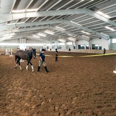 Hadley Farm horse barn
