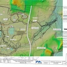 Map -  Town of Plymouth  Mass Audubon Manomet