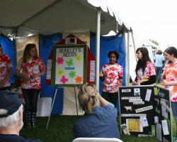 Berkley 4-H team competes at MA Envirothon