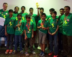 Massachusetts 4-H Robotics Team at World Festival