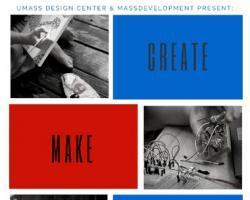create make connect logo