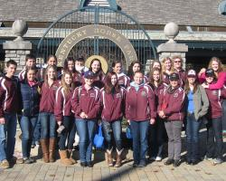 The 2013 Massachusetts 4-H Horse Round Up delegation
