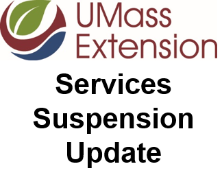 UMass Extension Services Suspension Update