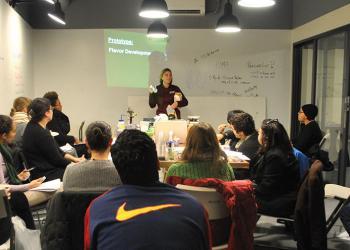 Amanda KInchla teaching workshop