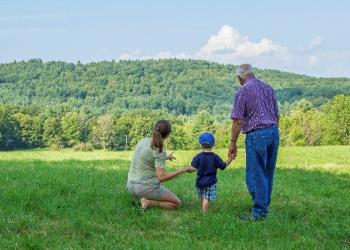 Three generations consider forest conservation