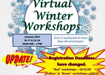 New flyer for Winter Forum