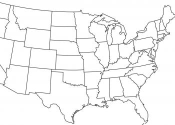 US Continental Map