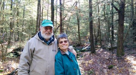 Ben and Susie Feldman, Athol [photo: Mount Grace Land Trust]