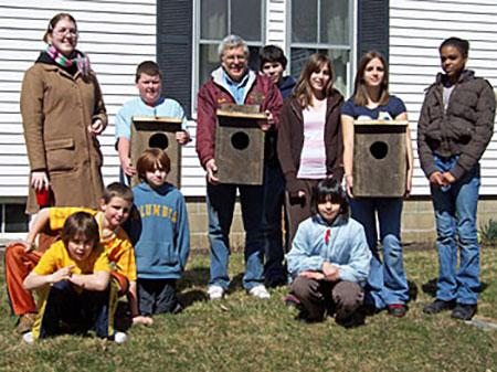 Building wood duck nesting boxes