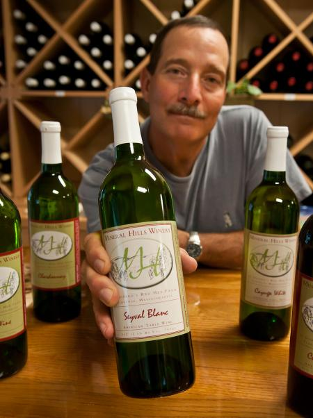 Larry Godard of Mineral Hills Winery