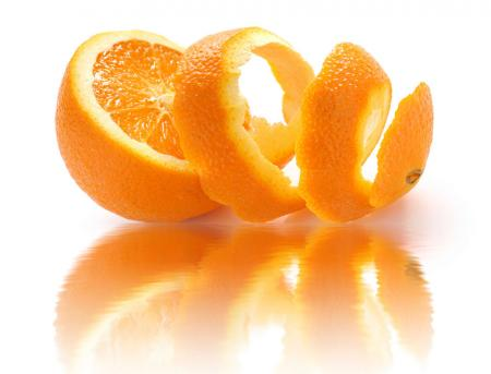 Orange peel used in research