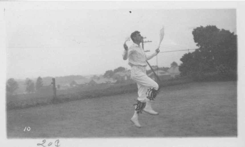 Douglas Kennedy, director of Folk Dancing School.