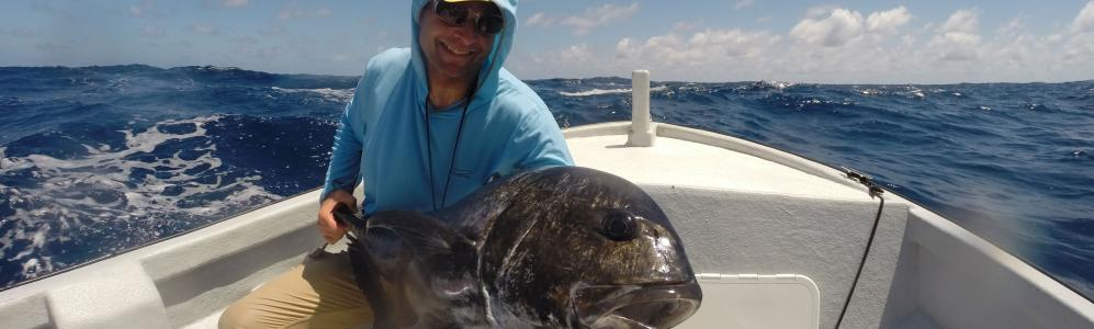 Andy Danylchuk catches the big one-Brian Bennett photo