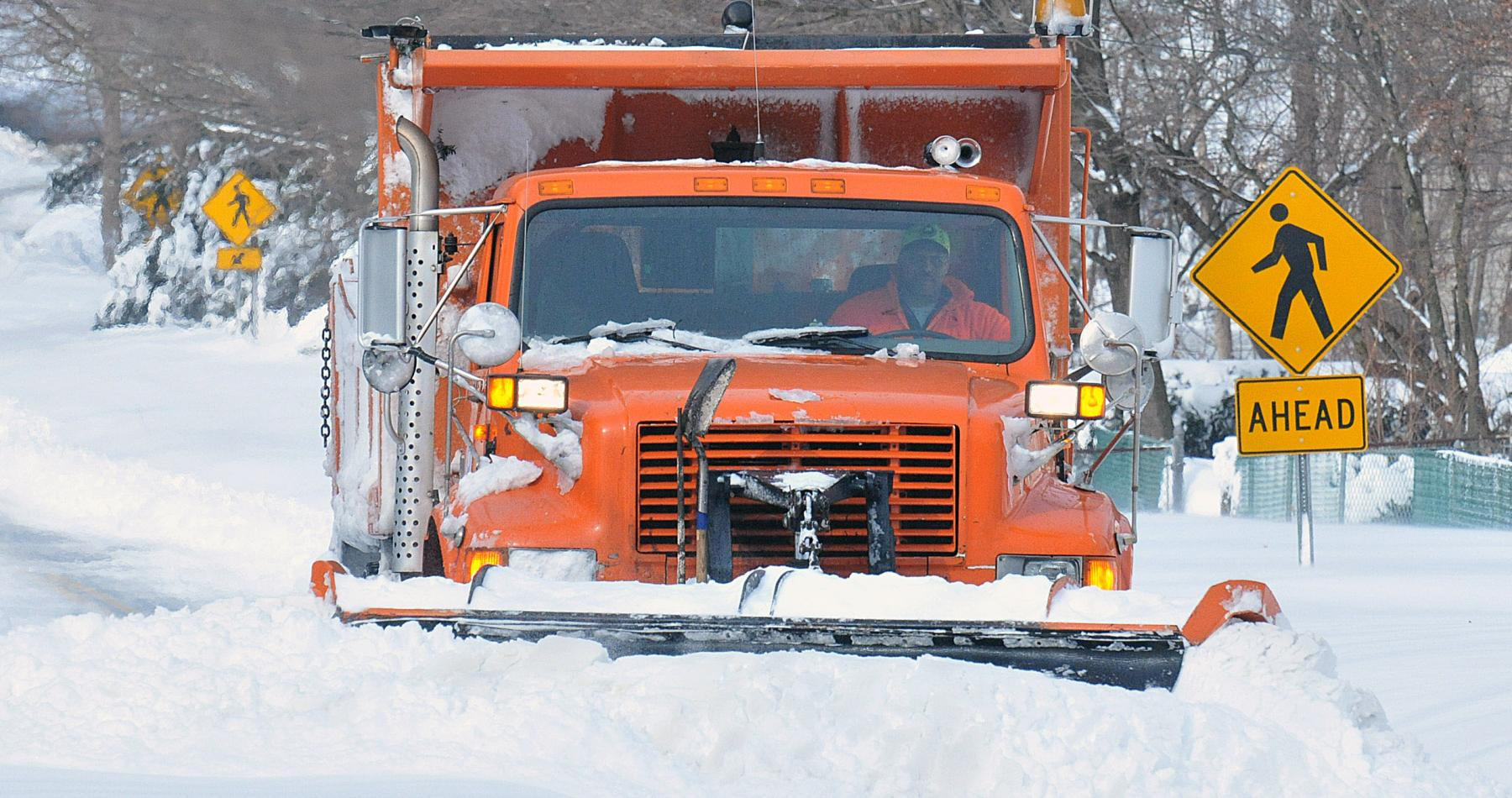 Snow plow and gallons per mile for municapl vehicles