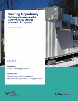 Cover of Report on Battery Energy Storage