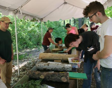 Field testing at MA Envirothon