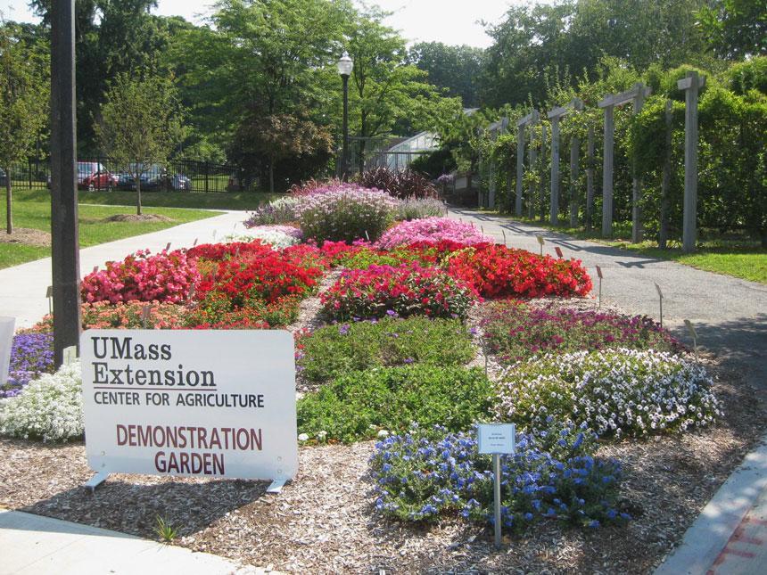 UMass Amherst Demonstration Gardens