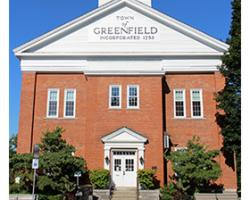 Greenfield Town Hall (Credit: The Recorder)
