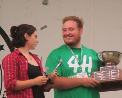 Henry Cadorette lll receives 4-H award