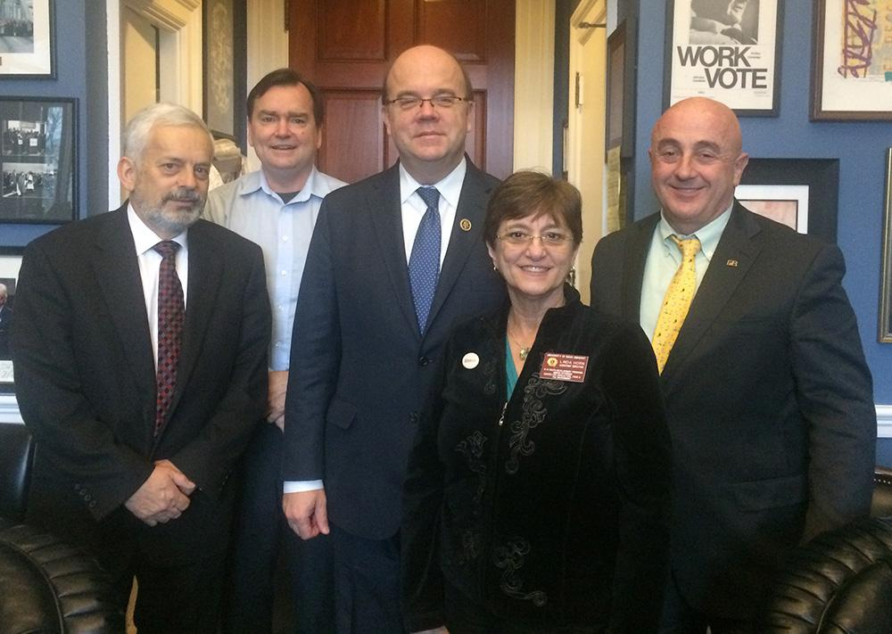 UMass representatives visit Congressman McGovern in Washington DC