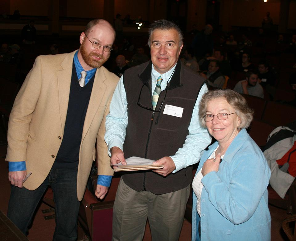 Co-chairs,Rick Harper and Dave Bloniarz and joined by presenter, Mary Owens
