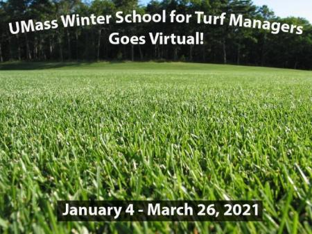 UMass Winter School for Turf Managers announcement