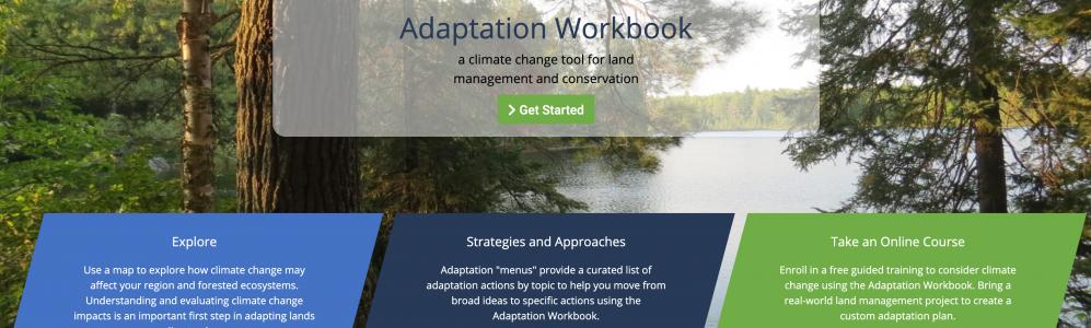 Adaptation Workbook website
