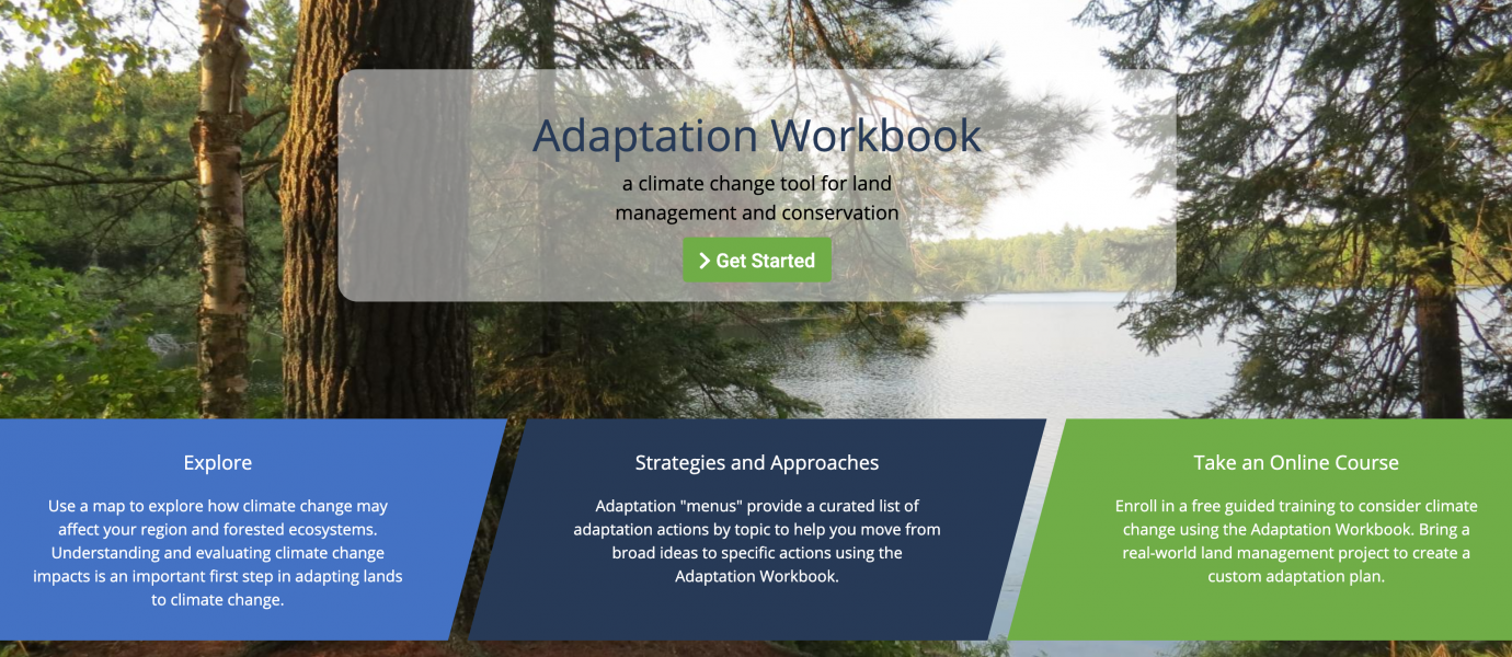 Adaptation Workbook website