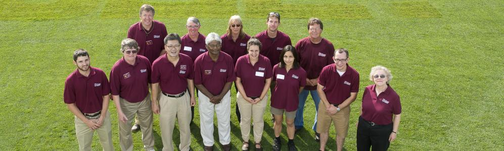 The UMass Extension Turf Program team