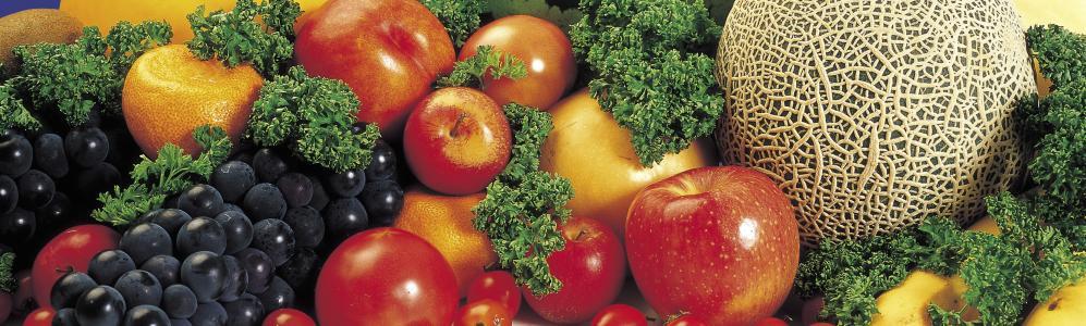 lots of fruit